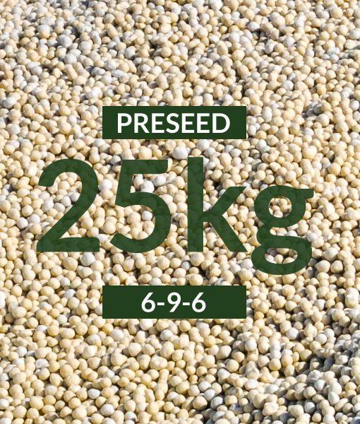 Preseed Fertiliser 6-9-6